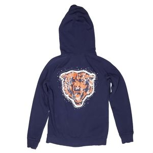 VS PINK Chicago Bears Bling Full Zip Hoodie